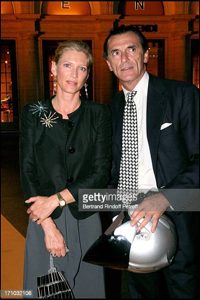 Mafalda Von Hessen and Count Ferdinando Brachetti Peretti Dinner at the Fendi Palazzo in Rome for the launch of the new perfume Palazzo