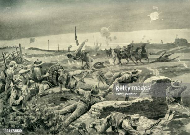 Eloff's Desperate Attack on the Eve of the Relief' The town of Mafeking was besieged during the Second Boer War from October 1899 to May 1900 Here...