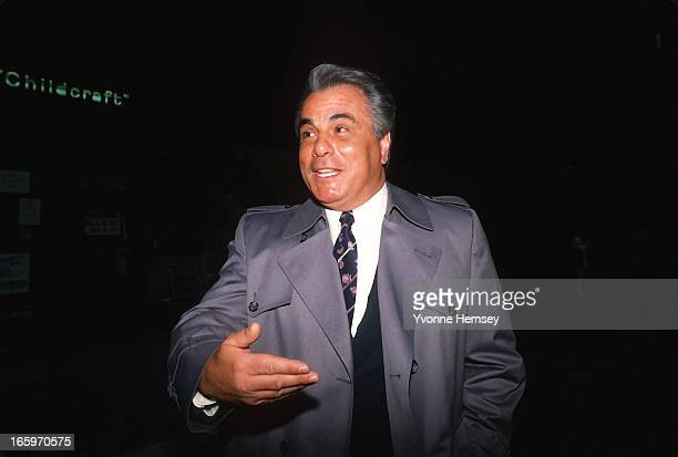 Mafia Boss John Gotti aka 'The Dapper Don ' is photographed on a street corner January 20 1987 in New York City