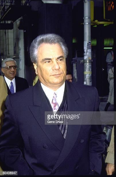 Mafia boss John Gotti