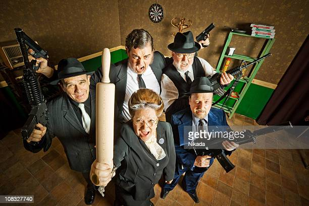 mafia family - gangster stock pictures, royalty-free photos & images