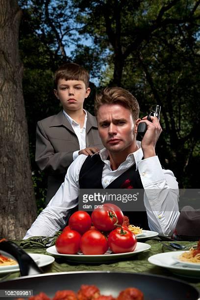 Mafia Vater und Sohn