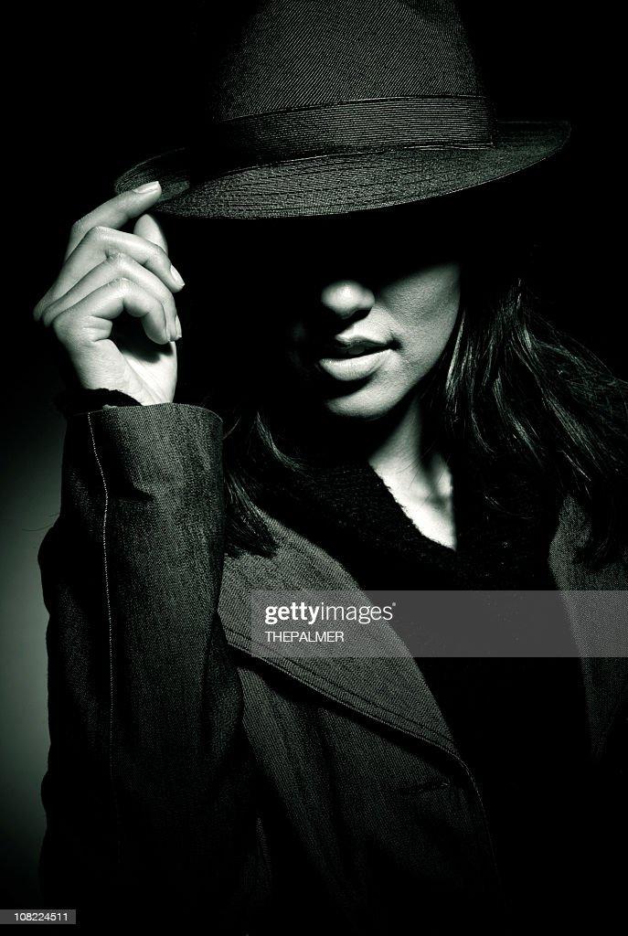 mafia girl : Stock Photo