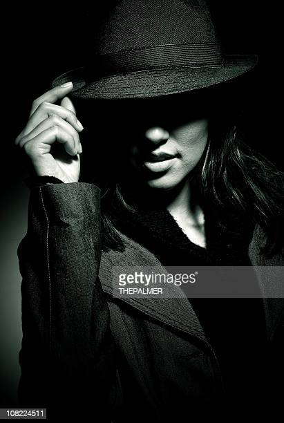 mafia girl - organised crime stock pictures, royalty-free photos & images