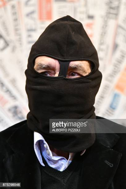 Mafia Turncoat Gaspare Mutolo, who once shared a prison cell with 'boss of bosses' Toto Riina, attends a meeting with foreign press on November 17,...