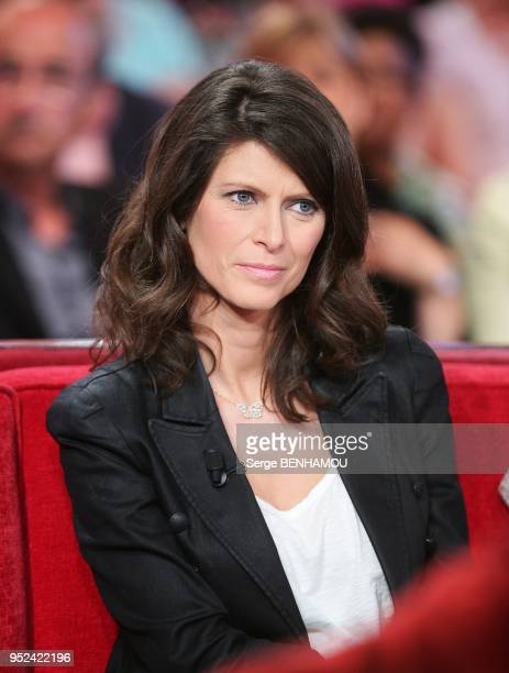 Magali Lunel attends Vivement Dimanche Tv show in Paris France on May 11 2011