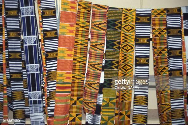 Magasin de Tissage Kente au Ghana