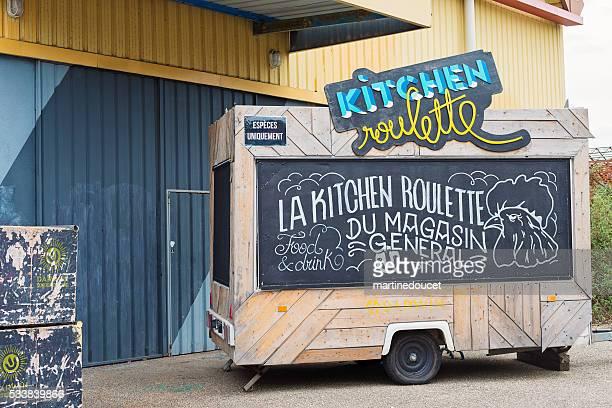Magasin General food truck, Espace Darwin Bordeaux, France.