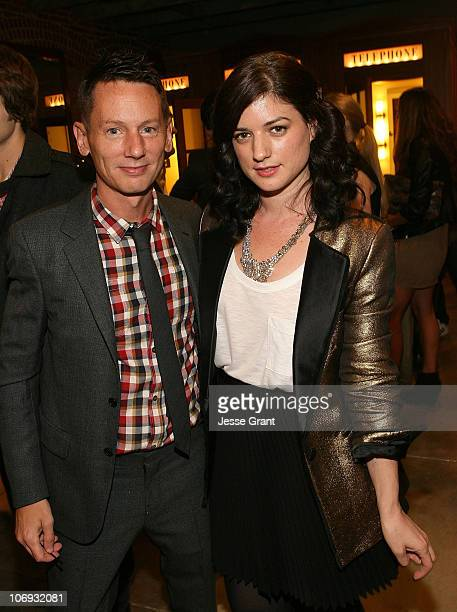 GQ Magazine Editor in Chief Jim Nelson and Ilaria Urbinati attend the special edition of GQ The Style Manual celebration at Confederacy on November...