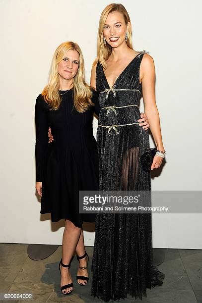 Magazine Editor In Chief Kristina O'Neill and model Karlie Kloss attend the WSJ Magazine 2016 Innovator Awards at Museum of Modern Art on November 2...