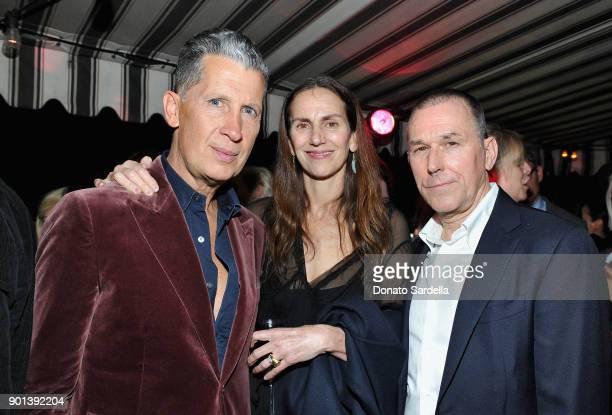 W Magazine Editor Stefano Tonchi Lisa Immordino Vreeland and guest attend W Magazine's Celebration of its 'Best Performances' Portfolio and the...
