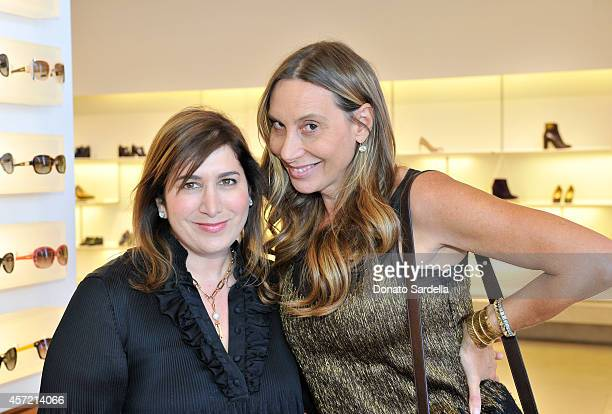 Magazine Founder and Editorial Director Jennifer Hale and host Jacqui Getty attend Ferragamo Shopping Event with Jacqui Getty benefitting Baby2Baby...