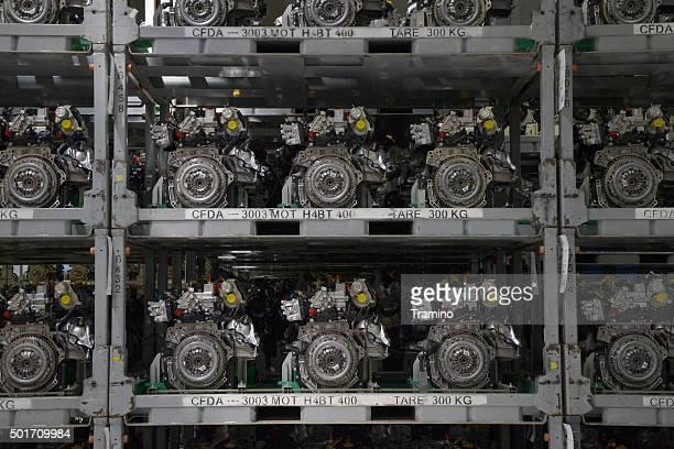 Magazine of finished engines