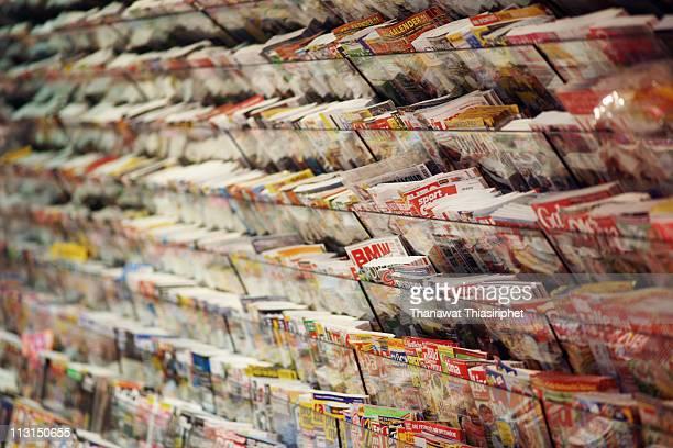 magazine - medienwelt stock-fotos und bilder