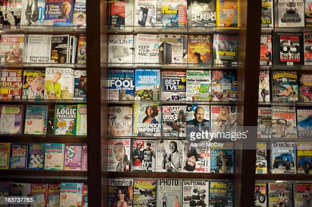 magazine rack - magazine stock pictures, royalty-free photos & images