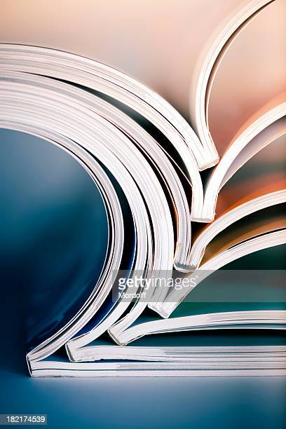 magazine stack - publication stock pictures, royalty-free photos & images