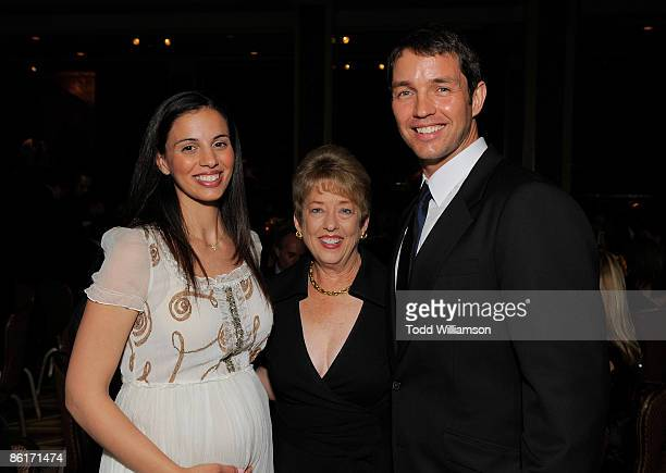 Magazine's Mary Ann Norbom with Matthew Marsden and wife at BritWeek 2009 Gala Dinner Benefiting Malaria No More at the Beverly Wilshire Hotel on...