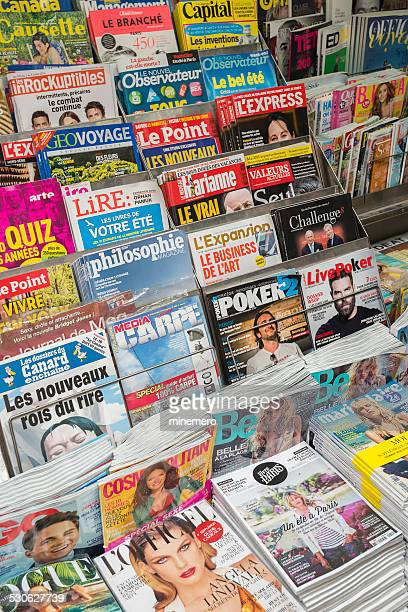 magazines - picture magazine stock photos and pictures