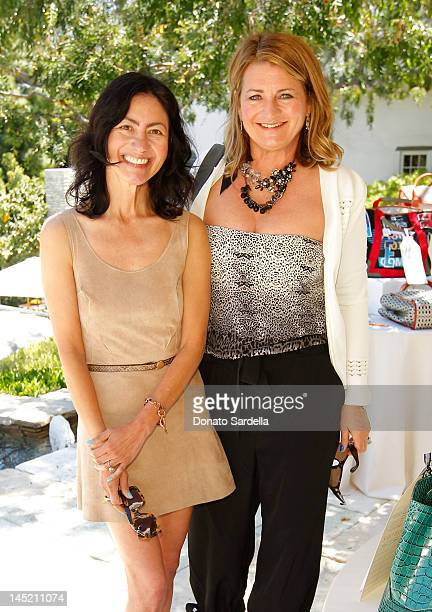 Magda Berliner and Marilyn Heston attend 9th Annual PS ARTS Bag Lunch Sponsored By Dior Beauty on May 23 2012 in Beverly Hills California