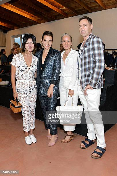 Magda Berliner Rachel Comey Danielle King and Gregory Parkinson attend Rachel Comey Los Angeles Store Opening on June 15 2016 in Los Angeles...