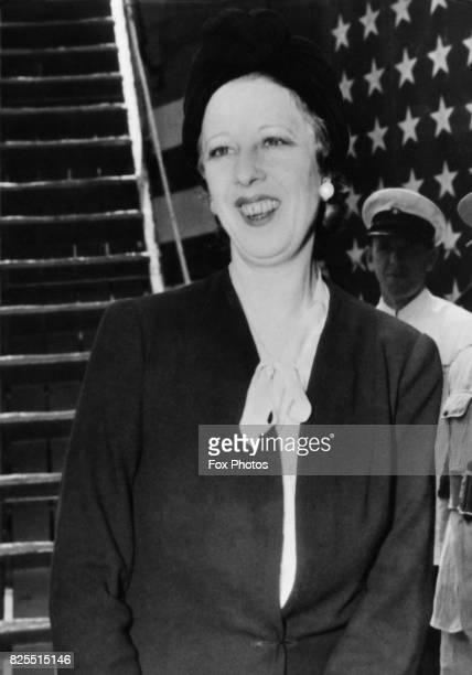 Magda Lupescu born Elena Lupescu the mistress of the former King Carol II of Romania June 1941