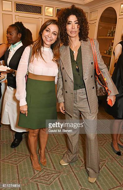 Magda Pozzo and Isis Monteverde attend the 3rd Annual Ladies' Lunch in support of the Silent No More Gynaecological Cancer Fund at Fortnum Mason on...