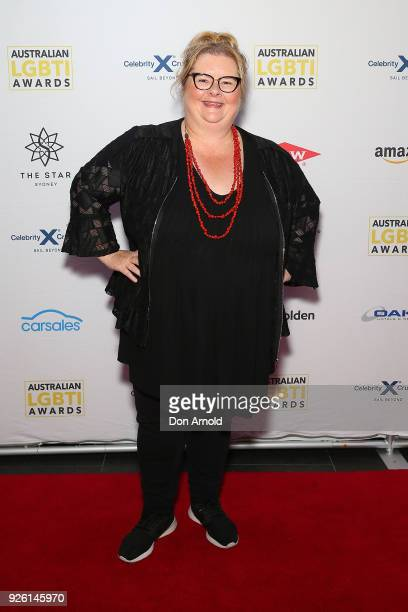 Magda Szubanski attends the Australian LGBTI Awards at The Star on March 2 2018 in Sydney Australia