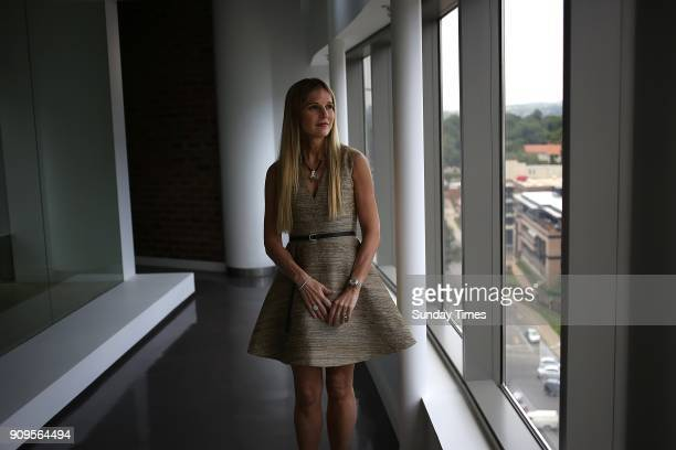 Magda Wierzycka CEO of Sygnia Group during an interview at her office on January 16 2018 in Sandton South Africa Wierzycka 47 a refugeetoriches...