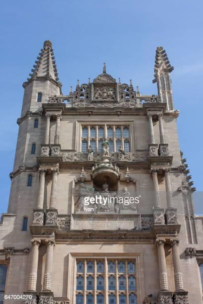 Magdalen College university building Oxford