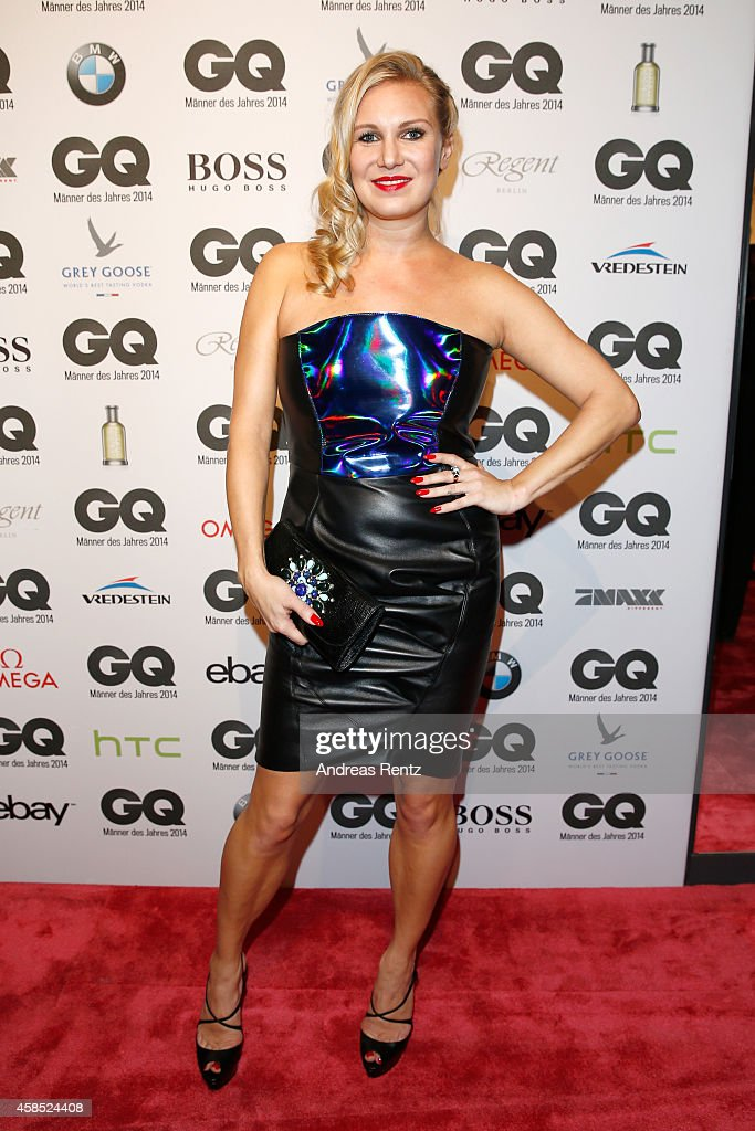 Magdalena Brzeska arrives at the GQ Men of the Year Award 2014 at Komische Oper on November 6, 2014 in Berlin, Germany.