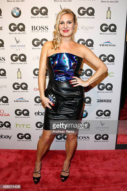 Magdalena Brzeska arrives at the GQ Men of the Year Award 2014 at Komische Oper on November 6 2014 in Berlin Germany