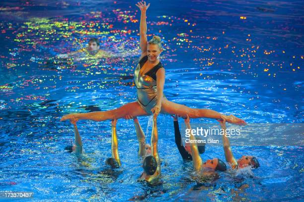 Magdalena Brzeska attends the finals of the live show 'Pool Champions' on July 12 2013 in Berlin Germany