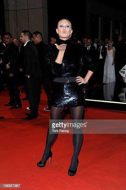 Magdalena Brzeska attends the GQ Men Of The Year 2010 award ceremony at Komische Oper on October 29 2010 in Berlin Germany