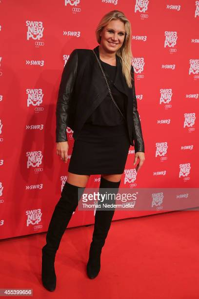 Magdalena Brzeska attends the red carpet prior to the SWR3 New Pop Festival 'Das Special' at Festspielhaus on September 13, 2014 in Baden-Baden,...