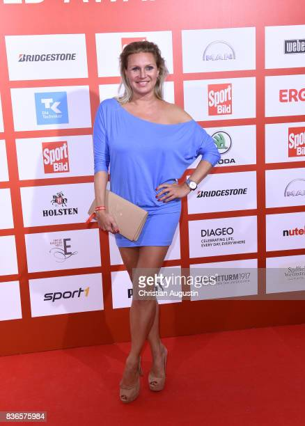 Magdalena Brzeska attends the Sport Bild Award at the Fischauktionshalle on August 21 2017 in Hamburg Germany
