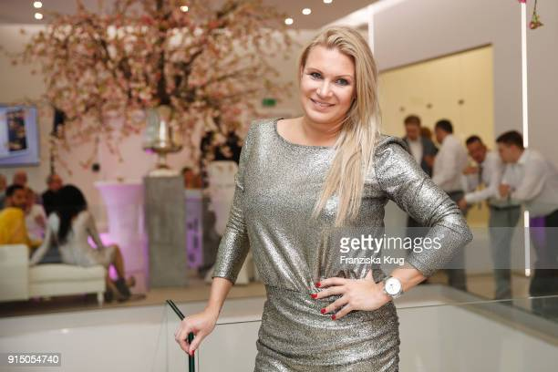 Magdalena Brzeska during the presentation of the new hairfree campaign on February 6 2018 in Darmstadt Germany