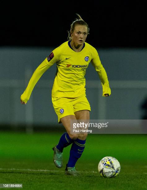 Magdalena Eriksson of Chelsea Women on December 12 2018 in Cheshunt England