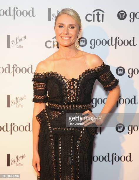 Magdalena Roze arrives ahead of the Good Food Guide Awards on October 16 2017 in Sydney Australia