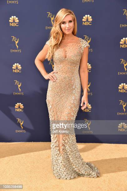Magdalena Roze attends the 70th Emmy Awards at Microsoft Theater on September 17 2018 in Los Angeles California
