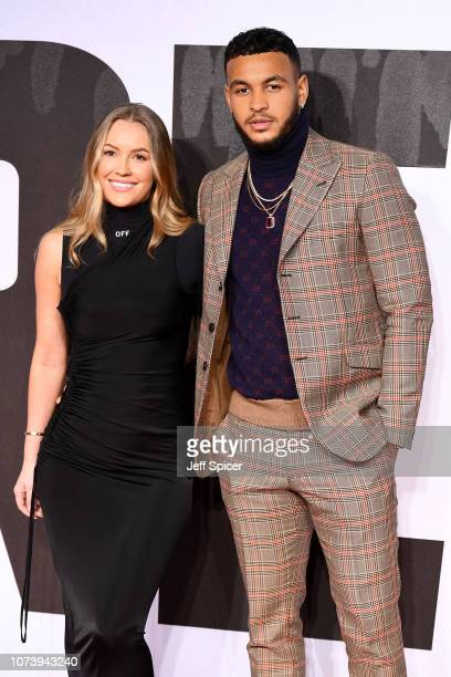 Magdalena Temre and Joshua King Jr attend the European Premiere of Creed II at BFI IMAX on November 28 2018 in London England