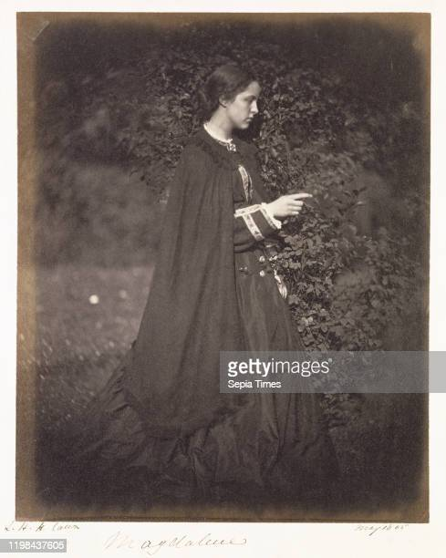 Magdalene Julia Margaret Cameron London England May 1865 Albumen silver print