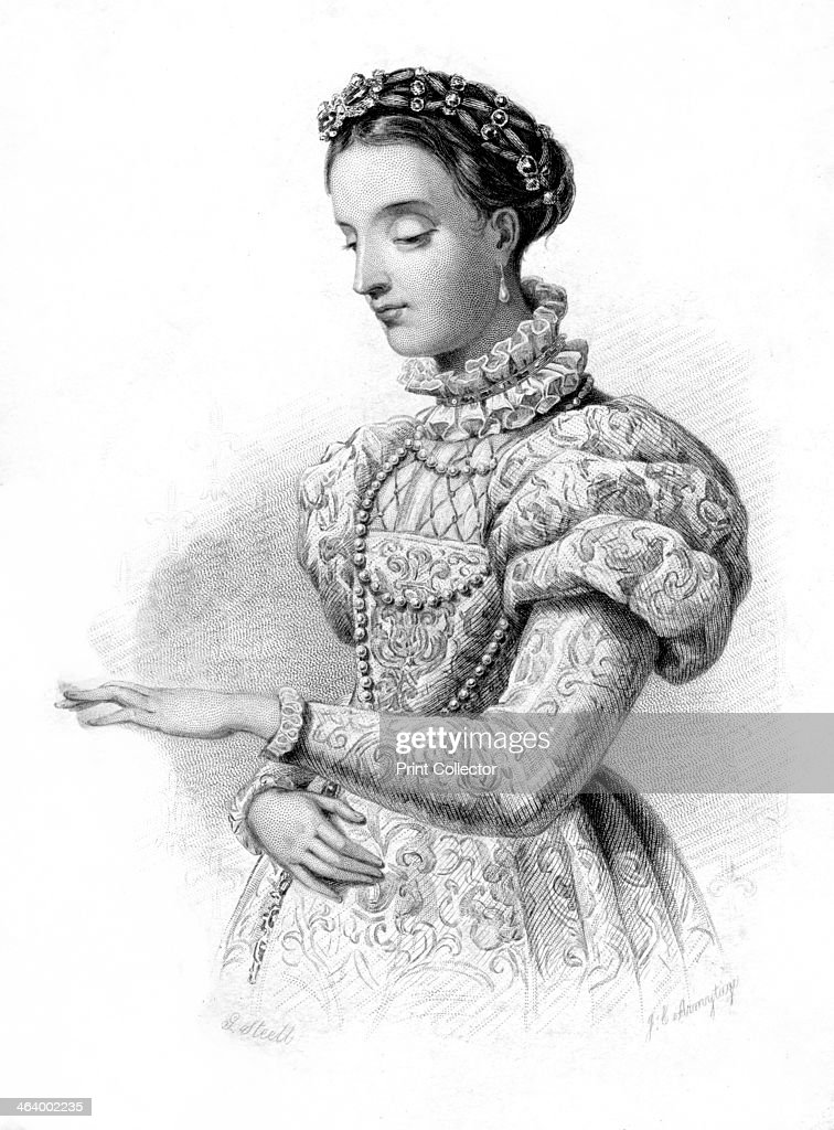 Magdalene of France, (19th century).Artist: JC Armytage : News Photo