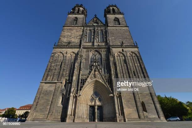 Magdeburger Dom Am Dom Magdeburg SachsenAnhalt Deutschland