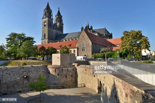Magdeburger Dom Bastion Cleve Am Dom Magdeburg SachsenAnhalt Deutschland