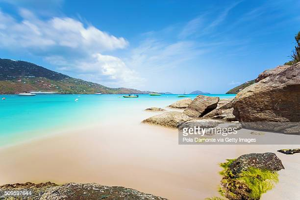 Magens Bay beach at Saint Thomas, US Virgin Islands