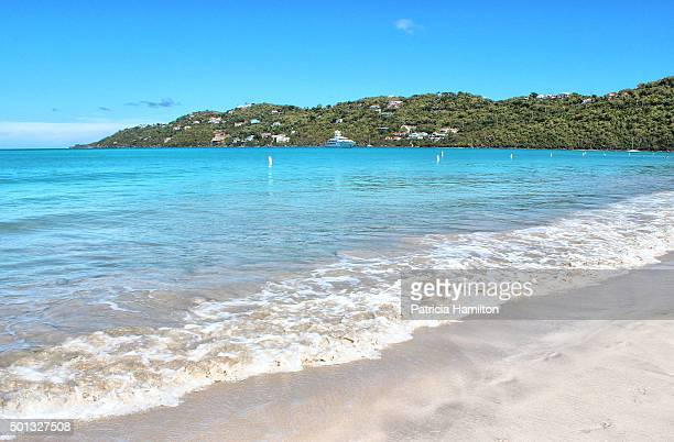 magen's bay, st thomas, caribbean - magens bay stock photos and pictures