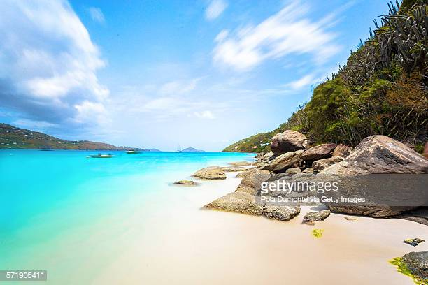 magens bay, st. thomas, us virgin islands - emerald bay lake tahoe stock pictures, royalty-free photos & images