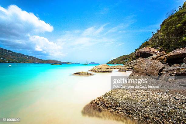 magens bay, st. thomas, us virgin islands - magens bay stock photos and pictures
