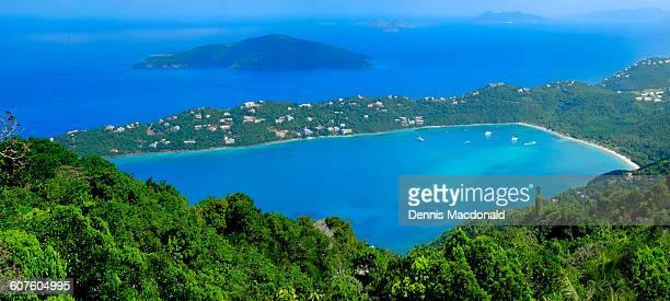 magens bay st. thomas virgin islands - paisajes de st thomas fotografías e imágenes de stock
