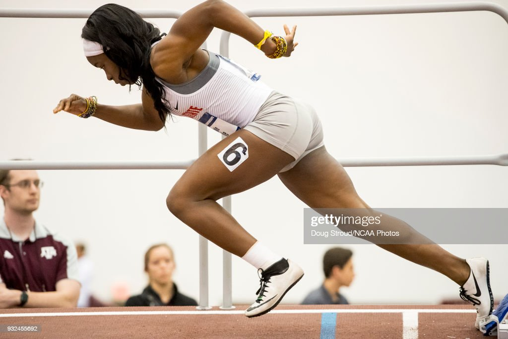 NCAA Division I Men's/Women's Indoor Track Championship : News Photo